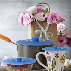 Wonderful gift idea for Mother's day or any special occasion - pretty and so useful for anyone who cooks indoors or outside.