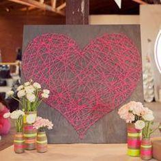 DIY String Heart~ 4-H neaxt year