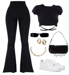 Swaggy Outfits, Cute Swag Outfits, Cute Comfy Outfits, Pretty Outfits, Stylish Outfits, Kpop Fashion Outfits, Girls Fashion Clothes, Looks Hip Hop, Polyvore Outfits