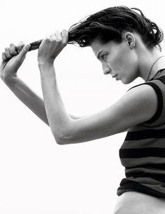 Daria Werbowy, David Sims, Emmanuelle Alt, Img Models, California Style, Fashion Night, Gisele, Vogue Paris, Supermodels
