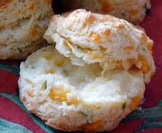 MyFridgeFood - Chive and Cheddar Biscuits