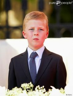 His Royal Highness Prince Emmanuel of Belgium.  Prince Emmanuel Léopold Guillaume François Marie; born 4 October 2005, is the second son and third child of King Philippe of Belgium and Queen consort Mathilde of Belgium.