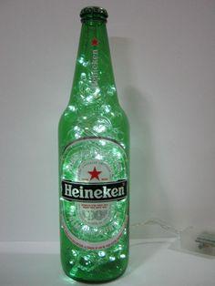 Confira aqui - Luminária Heineken (650ml) - Garagem Maluca