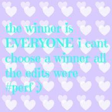 the winner is everyone!!!!!!!!!!!!!!!!