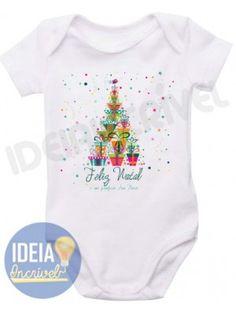 Body Infantil  Feliz Natal - Modelo: 3