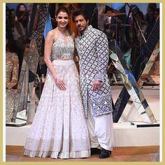 Shah Rukh Khan and Anushka Sharma, Manish Malhotra, Mijwan Fashion Show 2017, MyFashgram