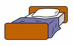 How To Draw A Cartoon Bed Using Basic Shapes And Colors