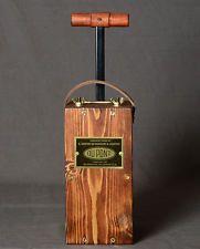 Replica Blasting Machine. Detonator Plunger Dynamite Dupont Blaster Fake Box