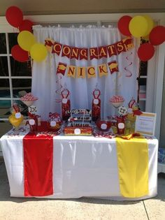 graduation party for boys | Graduation Party #graduaton #party colors
