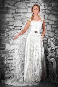 AlpenHerz Hochzeitsdirndl Marry lang