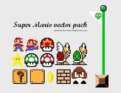 Super Mario Vector Pack | Vectorss|Vectorss