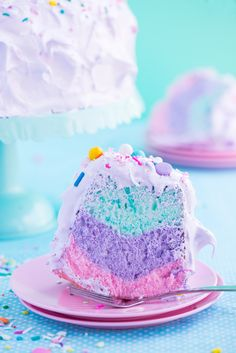 Unicorn Angel Cake by Sweetapolita