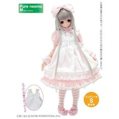Azone Pureneemo Alice in Dream World Set Pink Fashion Doll Blythe Pullip Momoko