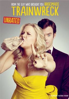 Availability: http://130.157.138.11/record=b3875225~S13 Trainwreck / directed by Judd Apatow ; written by Amy Schumer. Since she was little, it's been drilled into Amy's head by her dad that monogamy isn't realistic. Now a magazine writer, Amy lives by that credo; enjoying what she feels is an uninhibited life free from stifling, boring romantic commitment, but in actuality, she's kind of in a rut.