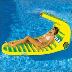 Inflatable Pool Float Lounge Cancun...i want this float too!