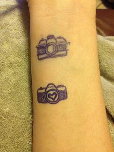 Camera tattoo ideas