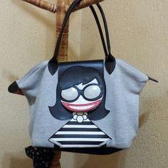 Bom dia!!! Amo essa bolsa divertida de moleton da @Imaginarium Fundesign