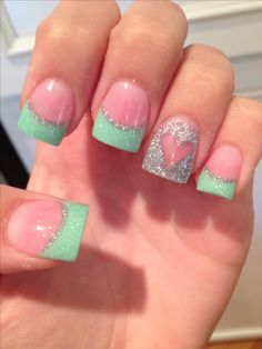 Cute nails | See more nail designs at http://www.nailsss.com/nail-styles-2014/