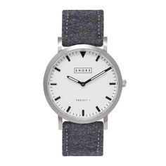 Poole with Sky Blue Classic Strap - Shore Projects is a watch brand inspired by the beauty and fun of the British seaside. Dezeen Watch Store, The White Company, Watch Brands, Leather Men, Watches For Men, White Watches, Men's Watches, Jewelry Watches, Accessories
