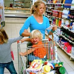 Shopping with children can be a hassle and become very frustrating. If you have toddlers or infants along for the shopping trip, there are several things that you need to make sure that you have in place. Nothing is worse than trying to get shopping done with a screaming child at your side.