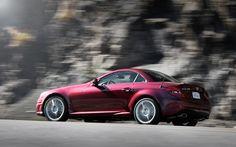 Mercedes SLK R171 Red