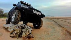 Пляж Азовского моря. — бортжурнал Toyota RAV4 ШЕРШАВЫЙ 1999 года на DRIVE2