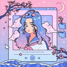Character Aesthetic 649151733776019615 - ✔ Cute Videos Kawaii Flower ✔ Cute Videos Kawaii Flower Source by popomackowiak Art Anime, Anime Kunst, Manga Anime, Art Kawaii, Arte Do Kawaii, Cartoon Kunst, Cartoon Art, Aesthetic Art, Aesthetic Anime