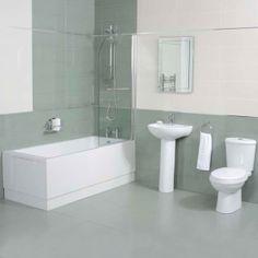£356.95 Carona Apulia 1700 x 700 Bathroom Suite http://www.betterbathrooms.com/bathroom-suites/straight-bath-suites/carona-apulia-1700-x-700-bathroom-suite