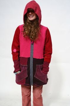 Dream Away Sweater Coat by Crispinaffrench on Etsy, $250.00