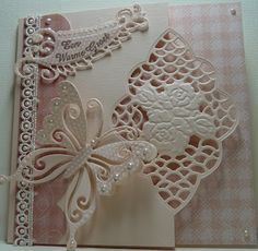 butterfly card -  Anja Design