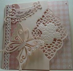 Anja Design: Een warme groet...  WOW!