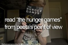 would be pretty awesome! --hunger games bucket list--
