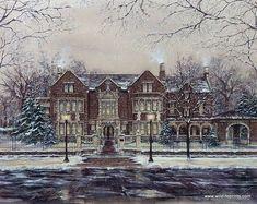 Susan Amidon The Governor's Mansion
