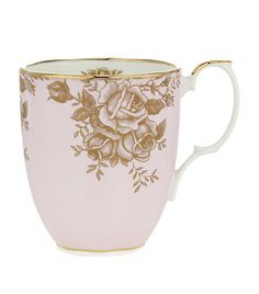Royal Albert 100 Years 1960 Golden Roses Mug available to buy at Harrods. Shop tableware online & earn reward points. Luxury shopping with Free Returns on UK orders.