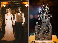 Terrifyingly, Beautiful Cthulhu Wedding Cake