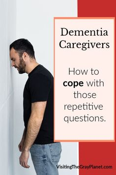 Coping with dementia. How do you deal with the same questions, over and over and over? Your loved one with dementia isn't doing it to drive you crazy, but how do you cope? Here are some tips that help me manage this behavior. Alzheimer Care, Dementia Care, Alzheimer's And Dementia, Dementia Symptoms, Activities For Dementia Patients, Alzheimers Activities, Elderly Activities, Physical Activities, Dealing With Dementia