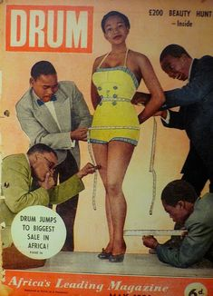 South African magazine Drum Magazine were Speaking about African fashion history at Afro European conference in Berlin earlier this month - Dad used to write the occasional article for them. Drum Magazine, Black Magazine, Jet Magazine, Black Pin Up, Black Art, Estilo Pin Up, Vintage Black Glamour, My Black Is Beautiful, African Diaspora
