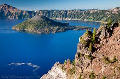 Crater Lake, Oregon by Nick Chill Photography, via Flickr