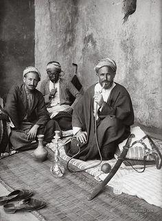 Coffee House: Jerusalem, Palestine 1900-1920 | Documentarist | Historic Photo Archive