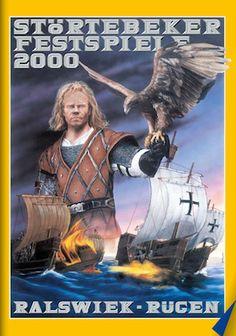 Poster Störtebeker Festspiele 2010 Keywords: Störtebeker, Pirat, Rügen, Urlaub, Naturbühne Ralswiek