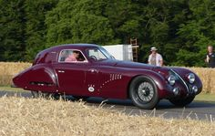 Alfa Romeo 8C 2900B Le Mans Coupe 2.9-litre 8-Cylinder 1938 by stkone || via Flickr