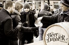 St. Paul Winter Carnival Beer Dabbler  is the biggest outdoor beer festival Minnesota has to offer.  Jan. 25, 2014 from 3:30 pm to 7:30pm.  #ONLYINMN  #exploremn