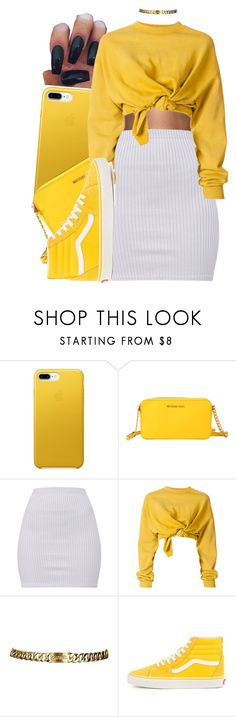 """""""this color is everything ✨"""" by envymeeeee ❤ liked on Polyvore featuring MICHAEL Michael Kors, Ottolinger and Chanel"""