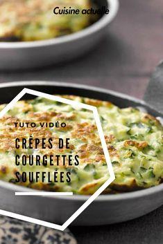 On pourrait en manger tous les jours tellement on adore cette recette #cuisineactuelle #crepes #courgettes #soufflée #mangerbien #mangersain