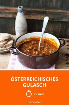 Österreichisches Gulasch - smarter - Zeit: 25 Min. | eatsmarter.de