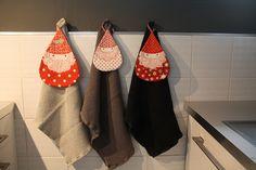 "Like these sort of 'santalike"" gnome potholders."