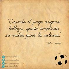 La belleza del fútbol. #MásQueUnBalón