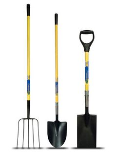 These tools have sturdy bamboo handles, blades made from recycled steel and grips made of reclaimed plastics. The line includes a bow rake, hoe, cultivator and several long- and short-handled shovels. Ames EcoGardner D-Handle Shovel, $17; Ames.com. #gardening