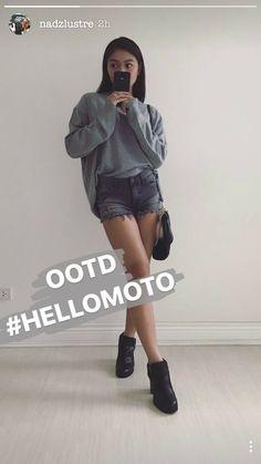 Lady Luster, Filipina Actress, James Reid, Nadine Lustre, Ootd, Jadine, Asia Girl, Best Actress, Instagram Story