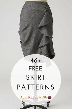 Looking for skirts to sew? Look no further than this collection! Clothing Patterns, Sewing Patterns, How To Make Skirt, Elastic Waist Skirt, Skirt Tutorial, Fashion Sewing, Learn To Sew, Sewing Clothes, Beets